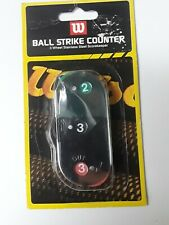 New! Wilson Umpire Clicker Balls Strikes & Outs A6776