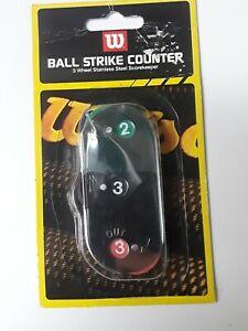 New! Wilson Umpire Clicker Balls Strikes & Outs A6776