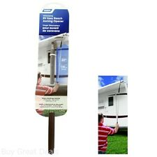 RV Easy Reach Awning Opener Pole Storage Camping Travel Trailer Steel Extend 47