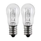 OCSParts ELE208 x 2 WE4M305 General Electric Dryer Light Bulb, 120V, 10W Pack of photo