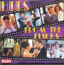 HITS FROM THE FLICKS: PROMO CD: ROY ORBISON, T REX, KELLY ROWLAND, CELINE DION