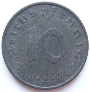Top! 10 Reichspfennig 1945 E IN Extremely fine
