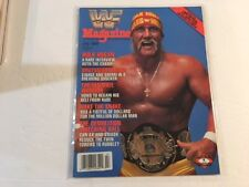 WWF Magazine 1989 July Hulk Hogan A Rare Interview With The Champ! WWE
