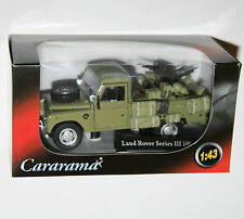 Cararama - Land Rover Series III 109 (blue Roof Rack) Model Scale 1 43