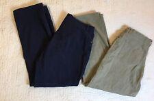 Jones New York Jeans Women Plus Size 14W, 36 Waist Blue Brown Stretch Lot Of 2