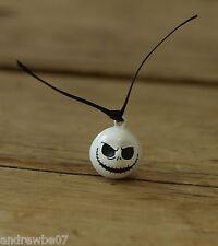 Jack Skellington Bell Charm Bauble Nightmare Before Christmas Halloween Keyring
