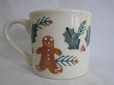 Hartstone Gingerbread Man Coffee Mug Holly