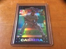 MIGUEL CABRERA 2007 TOPPS CHROME REFRACTOR......FUTURE HALL OF FAMER!!!