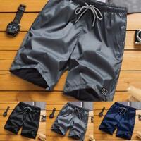 Men Summer Beach Casual-Shorts Athletic Gym Sports-Training Swimwear Short-Pants