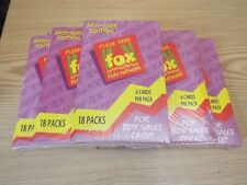FOX KIDS TRADING CARDS LOT OF 5 SEALED BOXES BY FLEER, ft: SPIDERMAN, X-MEN