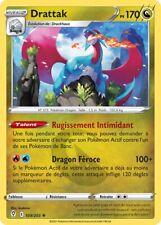 Pokemon Evolution Celeste EB06 VF 109/203 Drattak Holo rare Epee et Bouclier