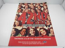 42ND STREET Broadway Theatre Window Lobby Card : 14x22 inch