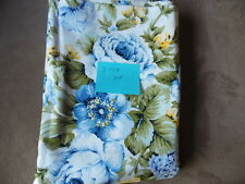 3 1/8 YDS Quilt Sewing Fabric Faye Burgos Marcus Brothers Big Blue Yellow Flower