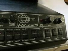 drum machine EKO Ritmo 20 Vintage Batteria elettronica + pedale Start-stop/fill