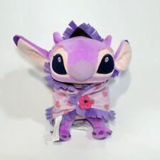 "Disney Babies Stitch Girl friend Angel Plush with Blanket Plush Doll toy 10"""