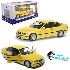 Solido 1:18 - Solido 1:18 1994 BMW M3 E36 (Yellow) - Diecast Model