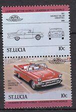 H129) Timbres Neufs MNH (Chevrolet Bel-Air 57) SAINT-LUCIA/ VOITURES-AUTOMOBILES