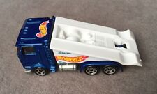RAMP TRUCK Hot Wheels #392 RACE TEAM II series 1/4 Metallic Blue 5SP wheels