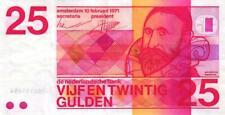 05 Netherlands/Niederlande P92a 25 Gulden 1971