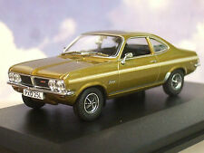 GREAT OXFORD DIECAST 1/43 1971-75 VAUXHALL FIRENZA SPORT SL HONEY STARMIST VF003
