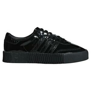 adidas ORIGINALS WOMEN'S SAMBA ROSE SHOES CORE BLACK SNEAKERS SHOES OUT LOUD NEW