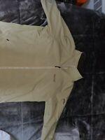 Marmot Men Zip Up Dry Winter Soft Shell Jacket Khaki Size XXL
