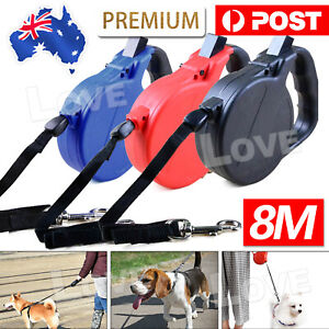 8M Lead Walking Leash Cat Retractable Pet Training Extendable Traction Rope Dog