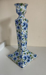 Two's Company Ainsley Pattern Chintz Flowers Candle Stick Holder Cottagecore