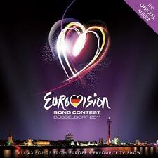 Eurovision Song Contest, Düsseldorf 2011   2-CD   NEU&UNGESPIELT-MINT!