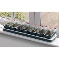Guirnalda Super 7 Electric Ventana climatizada Propagator jardín de efecto invernadero