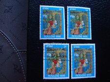 IRLANDE - timbre yvert et tellier n° 975 x4 obl (A32) stamp ireland