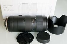 Tamron 70-210mm F/4 Di VC USD Telezoom-Objektiv für Nikon - Schwarz (A034N)