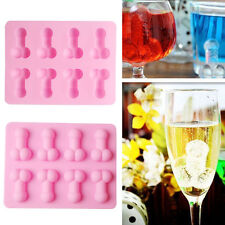 Penis Silicone Fondant Mould Ice Cube Cake Decorating Baking DIY Mold Home Party
