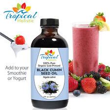 100% Pure Black Cumin Seed Oil, Organic Cold Pressed 8 oz