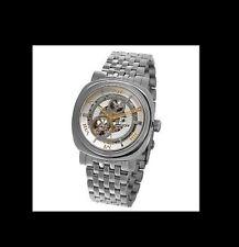 Jacot Men's Deegan Automatic Skeleton Stainless Steel Watch