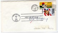 """Baseball Charles """"Red"""" Ruffing Autographed 1984 Baseball FDC w/ CAS COA"""