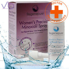 RegenePure Precision 5% Minoxidil Spray For Women, Doctor Recommended - NEW!