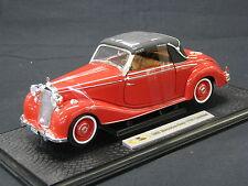 Signature Models Mercedes-Benz 170S Cabriolet 1950 1:18 Red (JS)