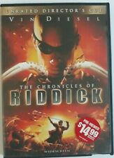 the Chronicles of Riddick dvd unrated director's cut Widescreen (A)