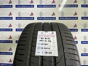1x 315/30/22 107Y XL Pirelli P-ZERO NO PORSHE 6.1MM (9395) FREE FIT LON