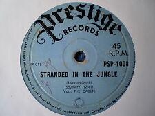"THE CADETS-STRANDED IN THE JUNGLE/I WANT YOU ""ULTRA RARE OZ PRESTIGE"" 45 RPM"