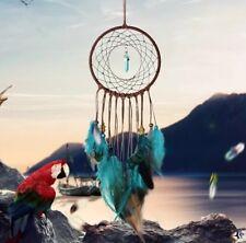Traumfänger Dreamcatcher Handgemacht Groß Federn Perlen Geschenk Dekoration