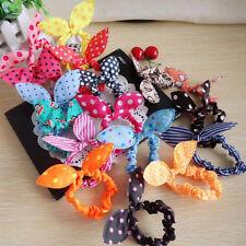 11PCS/Lots Fashion Korean Girls Bunny Ear Headband Rabbit Ear Hair Band Bow Tie