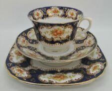 "Royal Albert ""ALHAMBRA"" IMARI Bone China Trio Cup Saucer Desert Side Plate 1920s"