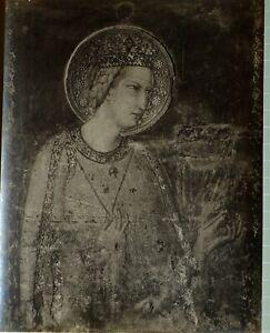c1900 ALINARI ORIGINAL PHOTO GELATIN SILVER ASSISI No. 40322 FIRENZE