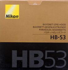 Nikon HB-53 Lens Hood for AF-S 24~120mm F4G Ed VR Lens Made in Japan