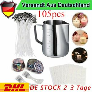 DE Kerzenherstellung Kit DIY Kerzenherstellung Zubehör, Duftkerze Geschenke Set