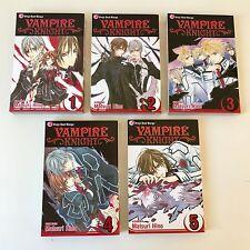 VAMPIRE KNIGHT Matsuri Hino BOOK LOT Volumes 1-5 English MANGA Shojo Beat VIZ