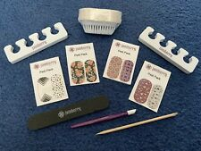 Jamberry Pedi Pack- 4 Pedicures And Nail Supplies