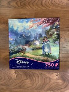 Jigsaw Puzzle Entertainment Disney Mulan Blossoms 750 pieces NEW Made in USA